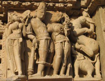 The Erotic Khajuraho Temple Sculptures (Sexy Indian Temple Art)