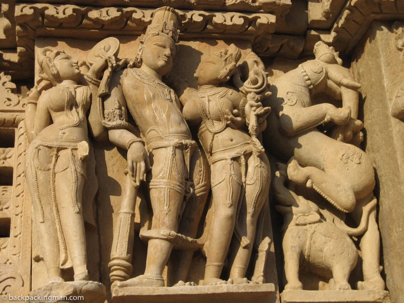 The Erotic Khajuraho Temple Sculptures (Sexy Indian Temple Art)