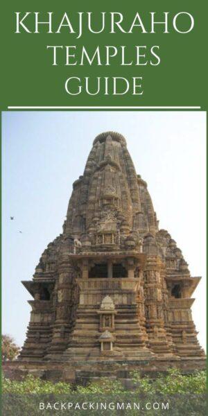Khajuraho temples india travel
