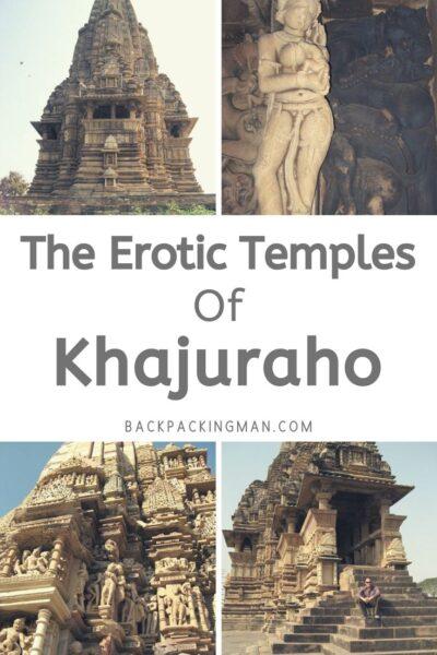 Khajuraho erotic temples