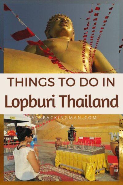 lopburi thailand travel buddha