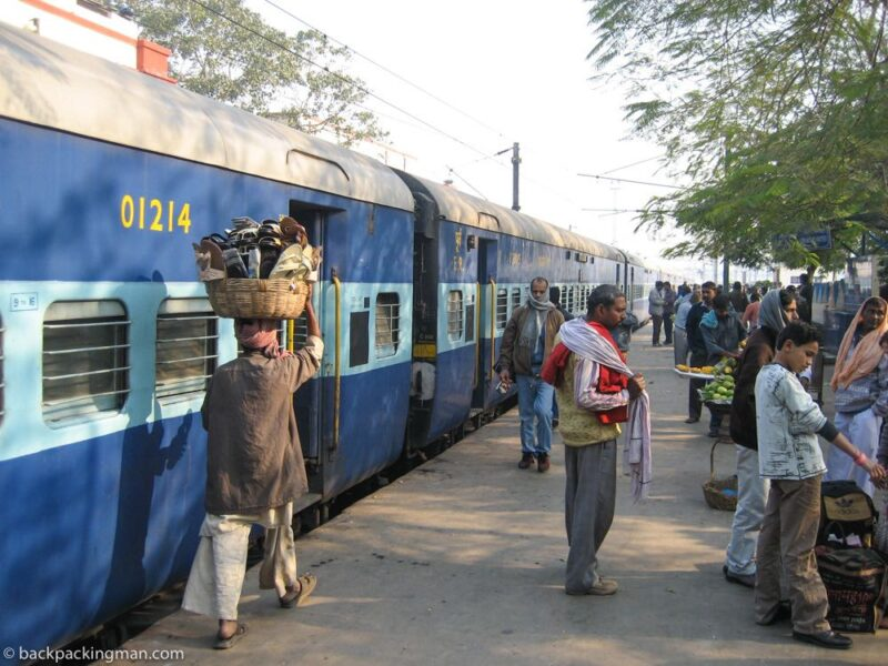 getting to bodh gaya train