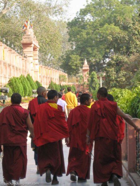 tibetan monks india