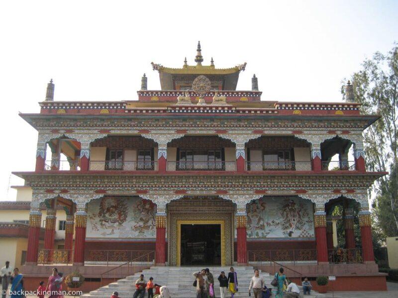 Tibetan monastery bodh gaya