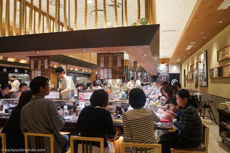sushi restauant Japan sapporo