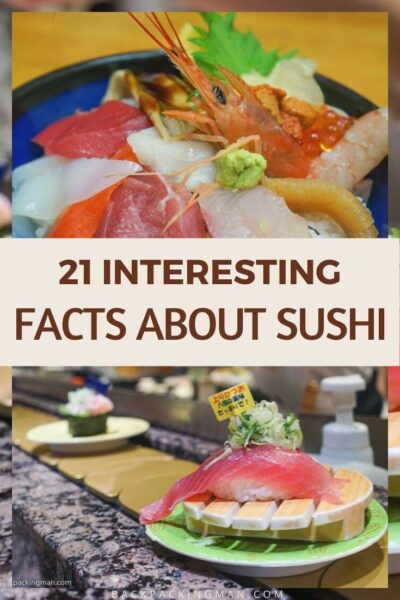 facts about sushi Japanese food