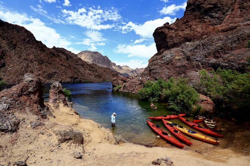 kayaking places in Colorado