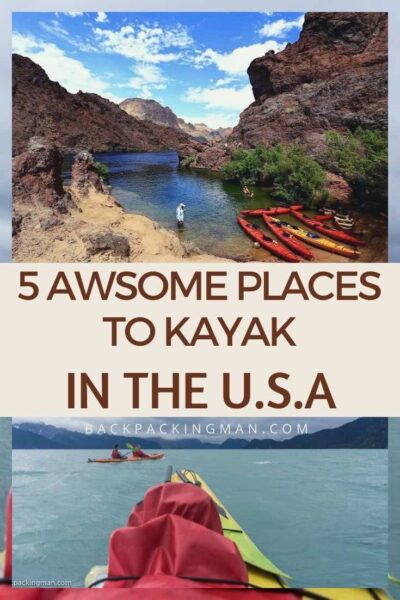 best places for kayaking in the United States
