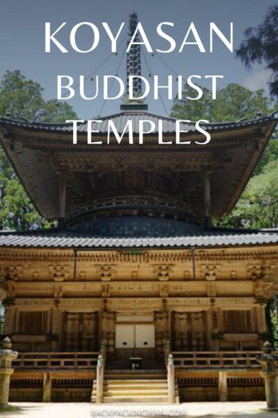 buddhist temples in Koyasan