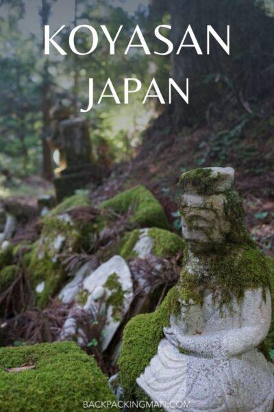 Koyasan Japan cemetery