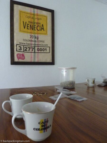 coffee in Columbia manizales