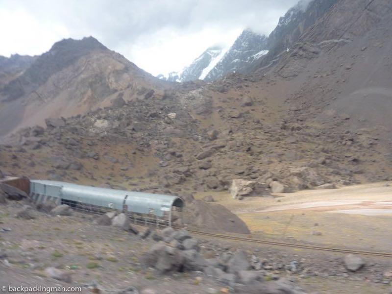 Mendoza to Santiago crossing