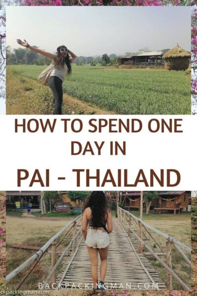travel in pai Thailand