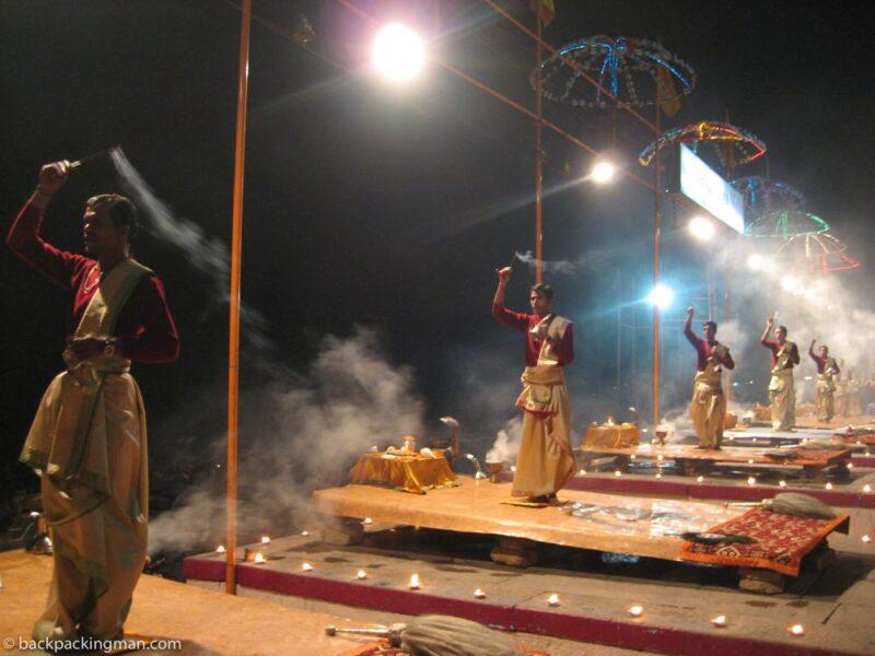 Varanasi light show