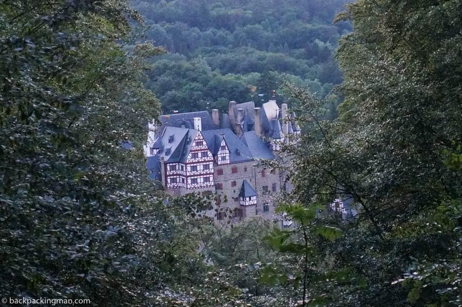 Eltz castle moselle river