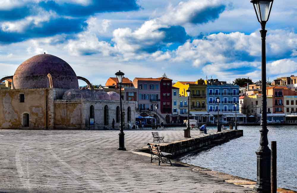 old town in Chania Crete