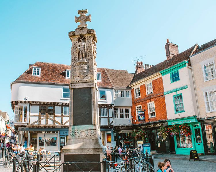 old butter market Canterbury