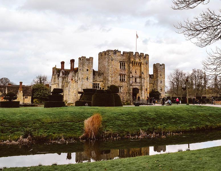 Weber castle in Kent England