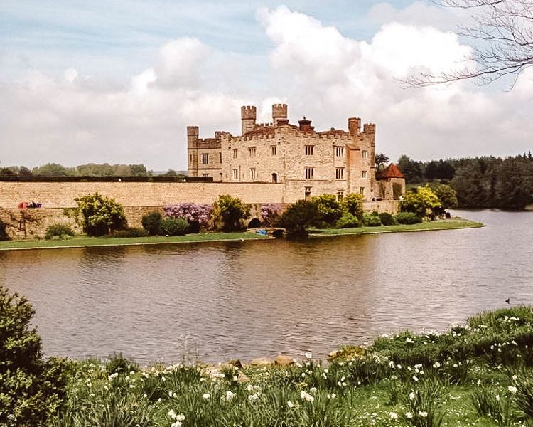Leeds castle in Kent England