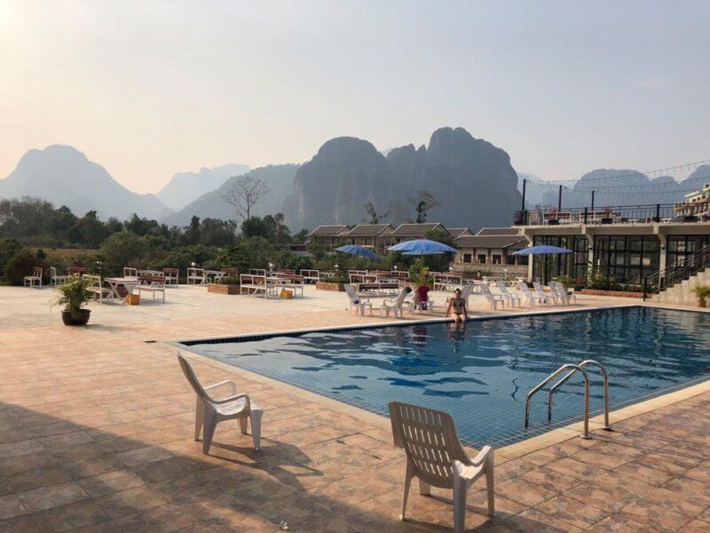 Vang Vieng scenery