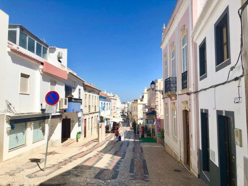 lagos Portugal old town