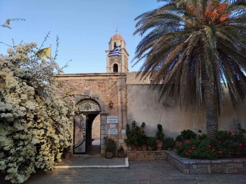 things to do in Crete. Greece monastery