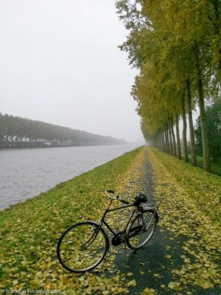 cycling to Utrecht from Amsterdam