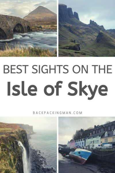 attractions on the Isle of Skye