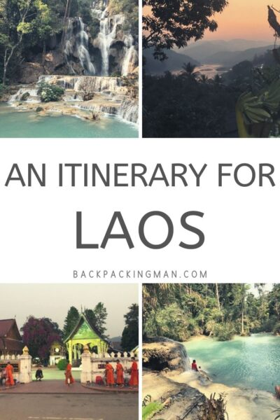 an itinerary for Laos