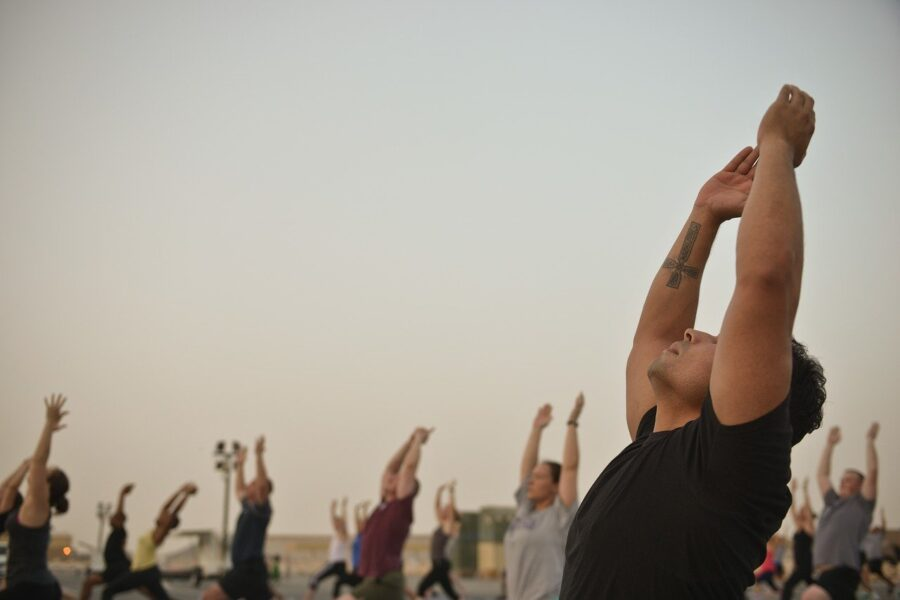 yoga when traveling