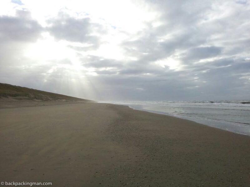 cycling Zandvoort to Katwijk an zee