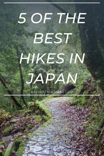 best hiking in Japan shikoku trail