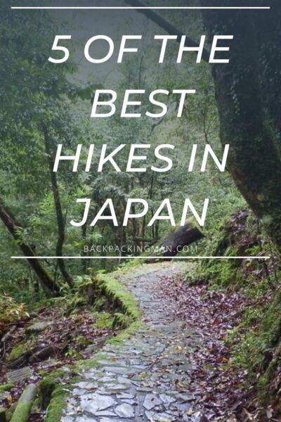 best hiking in Japan shikoku trail
