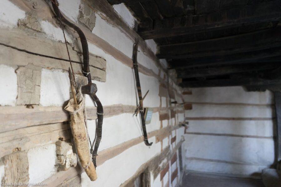 inside Baltit fort