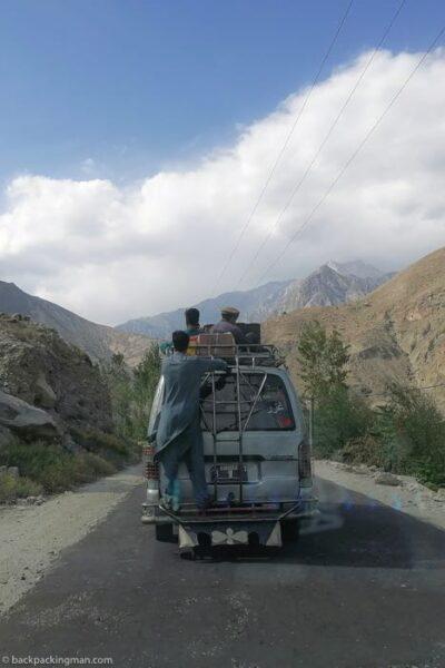 local van transport Gilgit
