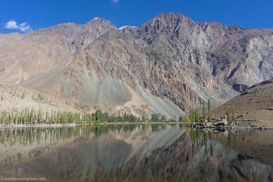 lake in phander valley pakistan
