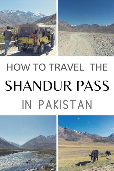 travelling the Shandur Pass in Pakistan
