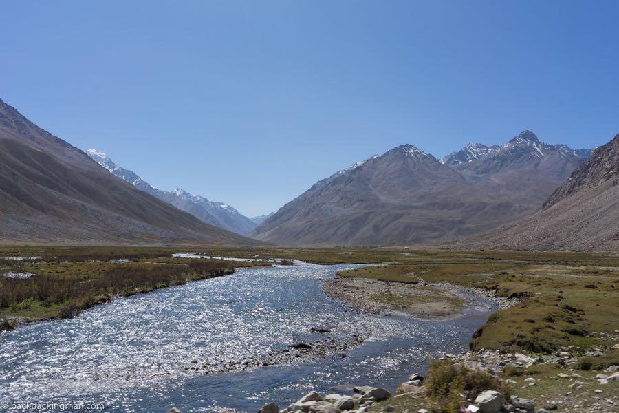 shandur pass river pakistan