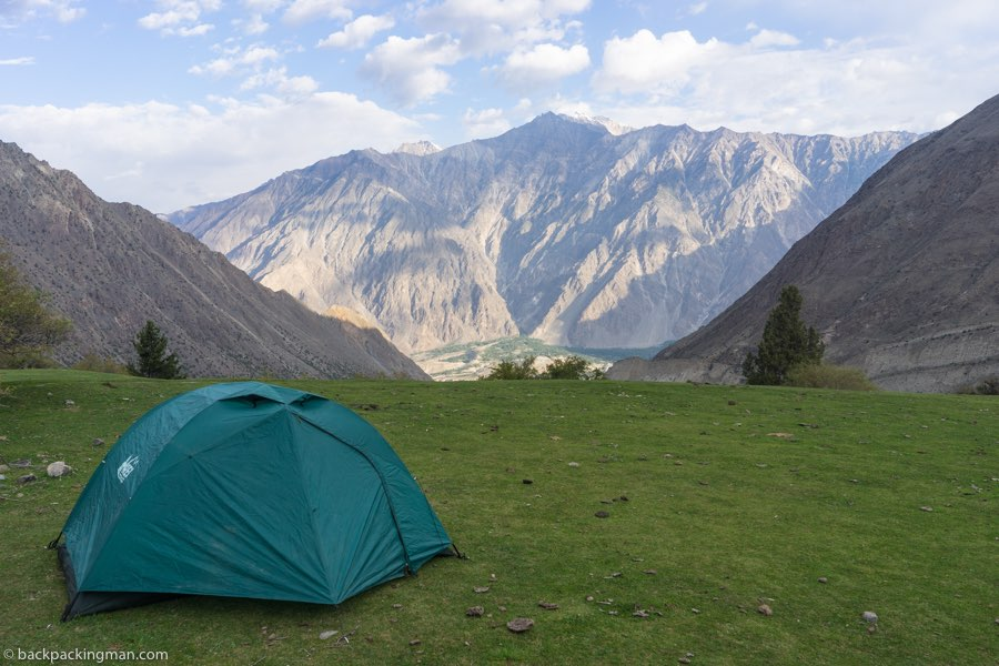 camping in the Hunza Valley