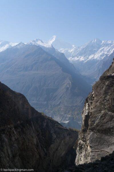 Hunza valley Diran mountain