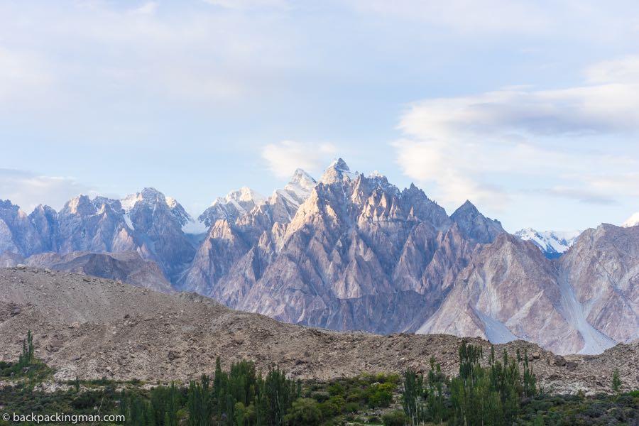 passu cones mountains