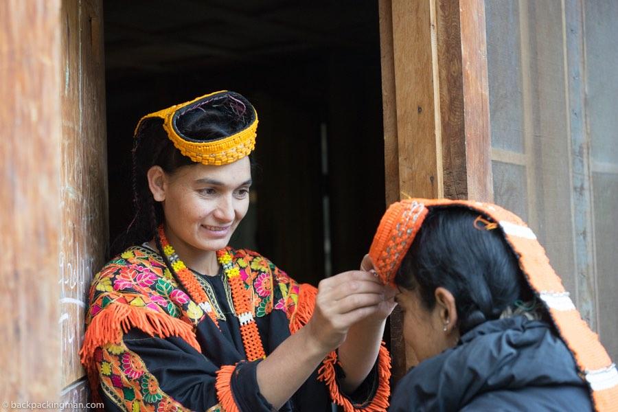 kalasha women