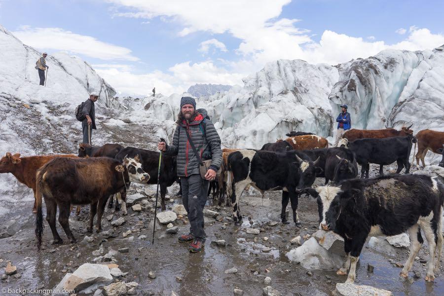 Passu Glacier hike