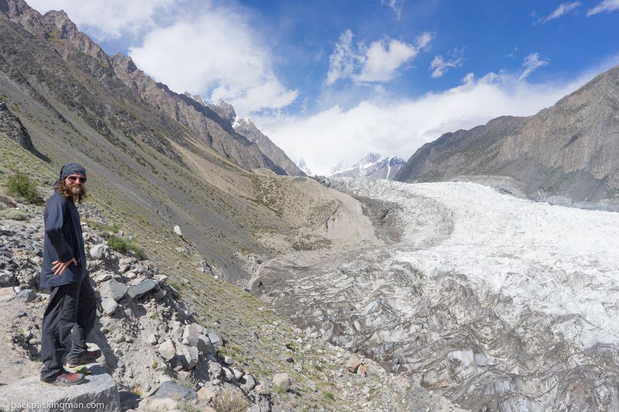 Passu Glacier viewpoint