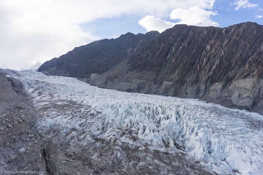 Passu Glacier in Pakistan