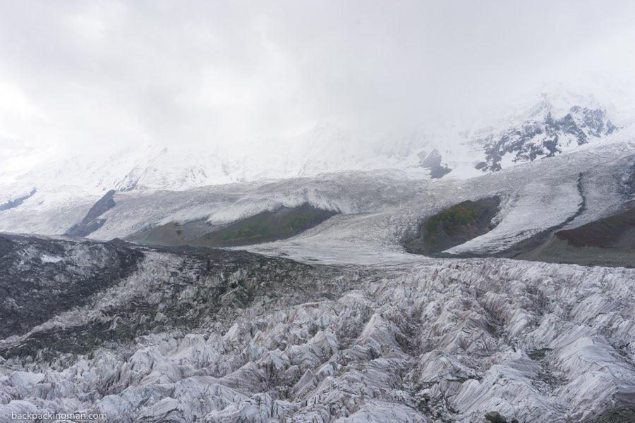 glaciers Hunza valley