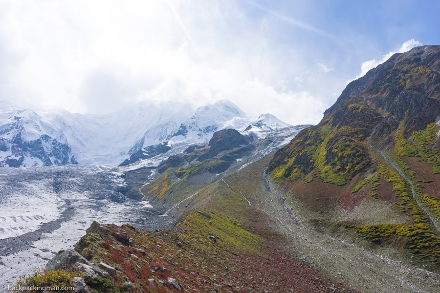 Rakaposhi mountain pakistan