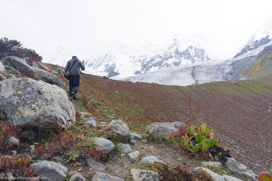 trekking in the Hunza Valley