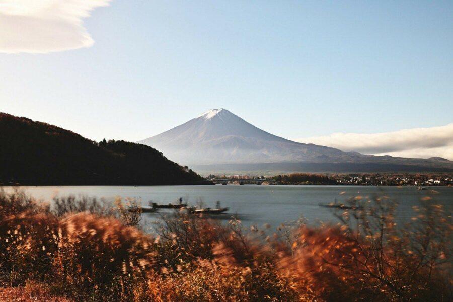 best Japanese onsen Kawaguchiko Lake