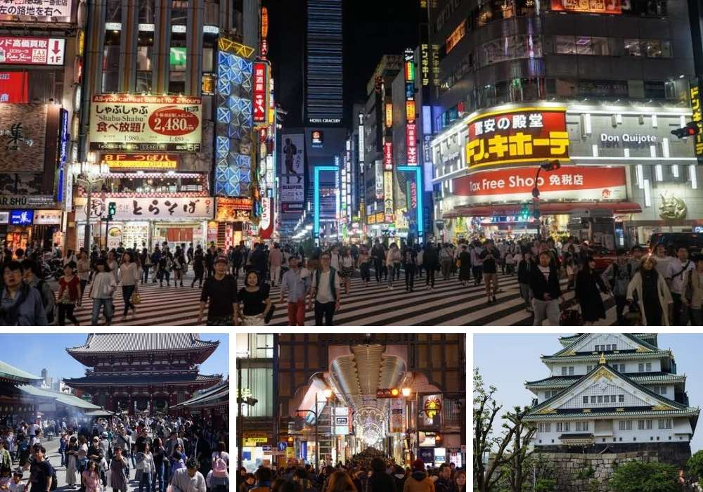 Tokyo vs Osaka For Travel & Living In 2021